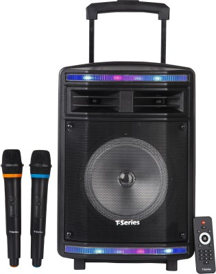 T-Series TR-S8B Professional Audio Mobile Amplifier & Portable Trolley Wireless Bluetooth Home Theatre(Black, 2.0 Channel)