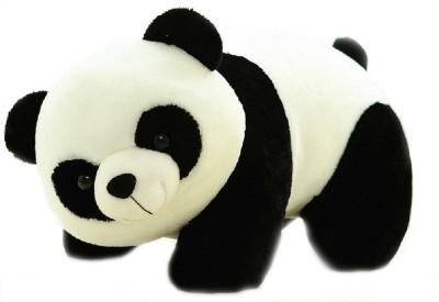 SANA TOYS Panda Soft Toy White   Black   26 cm Black and White SANA TOYS Soft Toys