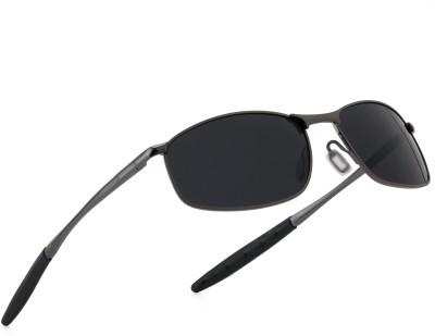 Royal Son Wrap-around Sunglasses(Black)