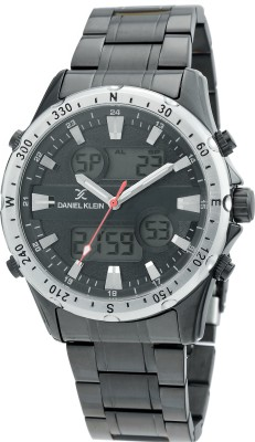 DANIEL KLEIN Daniel Klein Watch -DK.1.12329-6 d-time Gents Analog-Digital Watch - For Men