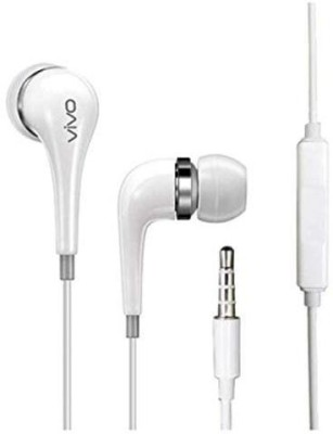 vivo HIFI CLEAR SOUND X-100 EARPHONE WHITE Wired Headset(White, Wired in the ear)