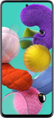 Samsung Galaxy A51 (Prism Crush White, 128 GB)(8 GB RAM)