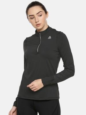 REEBOK Full Sleeve Solid Women Sweatshirt REEBOK Women's Sweatshirts