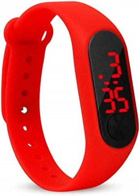 unequetrend Digital dial red sports watch Digital Watch  - For Boys & Girls