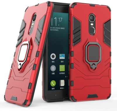 Sprik Back Cover for Mi Redmi Note 4(Red, Shock Proof)