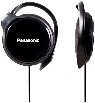 Panasonic RP-HS46-K SLIMZ Ear-Clip Headphones with Ultra-Slim Housing Wired Headset(Black, On the Ear)