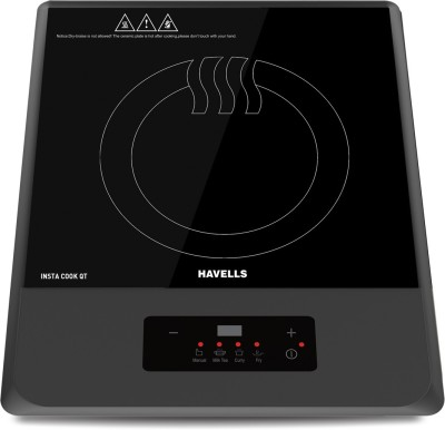 Havells GHCICDGK120 Induction Cooktop(Black, Touch Panel)