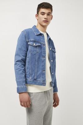 Kotty Full Sleeve Solid Men Denim Jacket