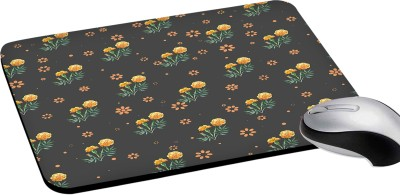 RADANYA Floral Printed, mouse pad, Natural Rubber Rectangular Mouse Pad, Quality Creative Wrist-protected Wristbands Personalized Desk, Rectangular Mouse Pad Mousepad(Multicolor)