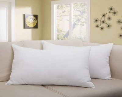 Muscari Comfort Sleep Polyester Fibre Solid Sleeping Pillow Pack of 2  (White)