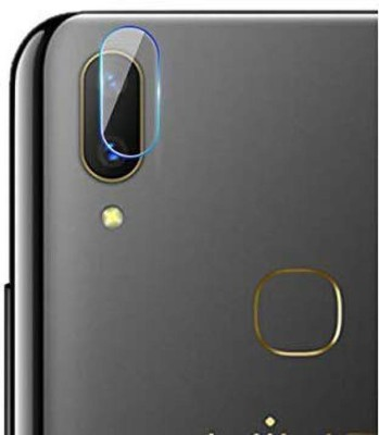 KHR Camera Lens Protector for Vivo Y11 with easy installation kit And Camera Glass Back Lens Protector(Pack of 2)