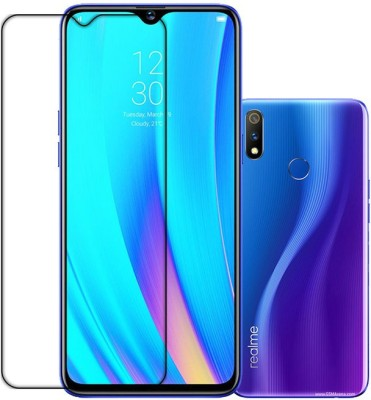 K2-TECH SQUARE Front and Back Tempered Glass for REALME 3 PRO(Pack of 1)