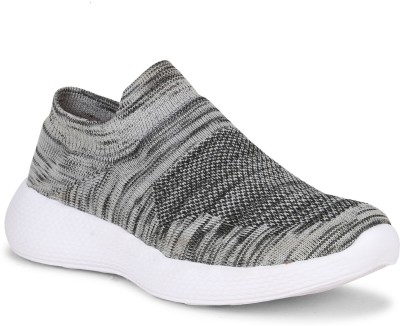Kimochi Fit Casual Slip On Sneakers For Men(Grey)
