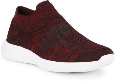 Kimochi Fit Casual Slip On Sneakers For Men(Red)