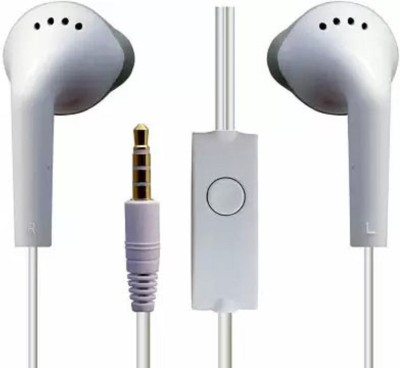 Frocel Ys Earphone (Original Sound Quality) For SAM_SUNG Galaxy Wired Headset(White, Wired in the ear)