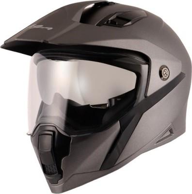VEGA mount Motorbike Helmet(dull anthracite)
