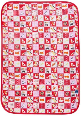 Me Mee Plastic Baby Sleeping Mat(Red, Small)