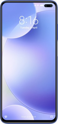 POCO X2 (Atlantis Blue, 128 GB)(6 GB RAM)