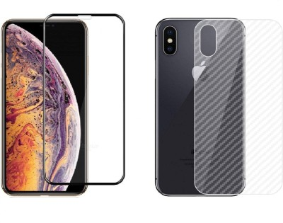 INCLU Front and Back Tempered Glass for Apple iPhone XS Max(Pack of 1)