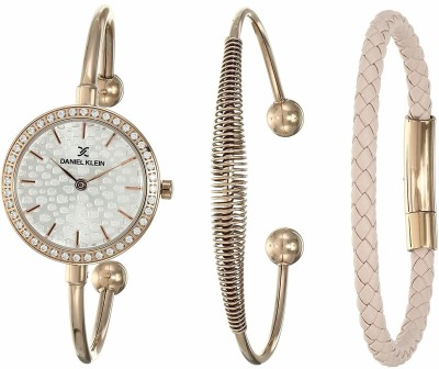 Daniel Klein DK12100-2 LADY GIFT SET Analog Watch - For Women