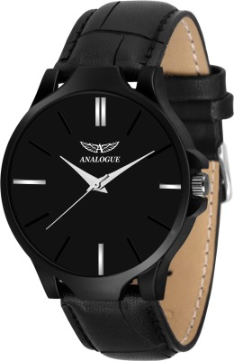 Analogue ANLG-428 All Black Series Analog Watch  - For Boys