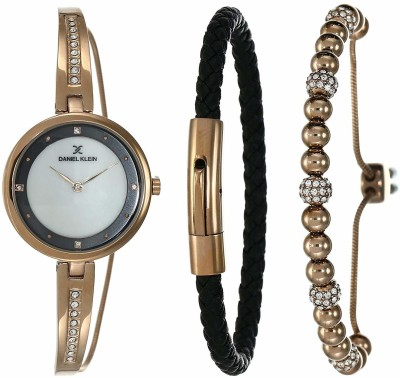 Daniel Klein DK12099-4 LADY GIFT SET Analog Watch - For Women
