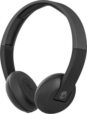 Skullcandy Uproar Bluetooth Headset with Mic(Grey Black, On the Ear)