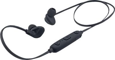 iBall Earwear Sporty Full Black Bluetooth Headset(Black, In the Ear)