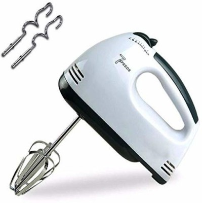 dhavl Electric Super Hand Mixer 7-Speed 180 W Hand Blender(White)