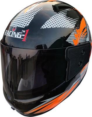 Racing FULL FACE SPORT UNBREAKABLE HELMET Motorbike Helmet(Orange)