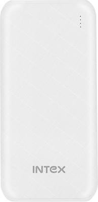 Intex 10000 mAh Power Bank (Fast Charging)(White, Lithium Polymer)