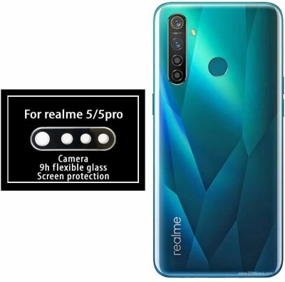 S-Line Camera Lens Protector for Realme 5(Pack of 1)