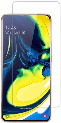 Power Tempered Glass Guard for Samsung Galaxy A80(Pack of 1)