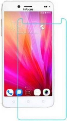 MRNKA Tempered Glass Guard for Infocus M680 Pack of 1