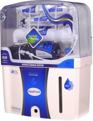 Aqua Fresh A2_RO_UV_UF_TDS_ALKALINE 12 L RO + UV + UF + TDS Water Purifier(Black, White)