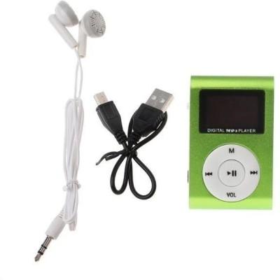 EFFULGENT MQ6 32  GB MP3 Player 32  GB MP3 Player Green, 1 Display EFFULGENT Media Players