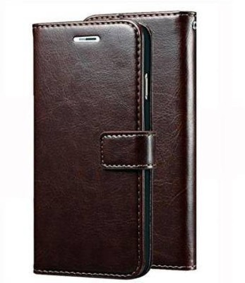Huma World Flip Cover for Samsung Galaxy J7(16) In Ultimate Coffee Color(Maroon, Dual Protection)