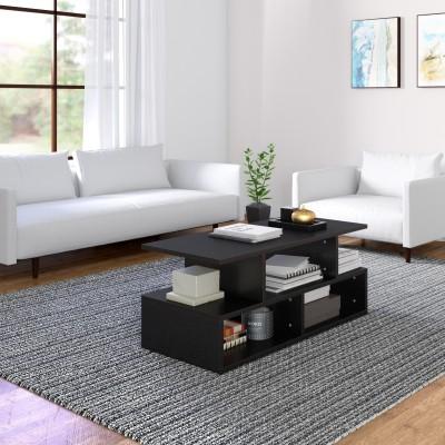 Flipkart Perfect Homes Studio Ernest Engineered Wood Coffee Table(Finish Color - Black)