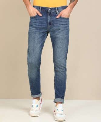 Levi's Tapered Fit Men Blue Jeans