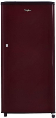 Whirlpool 190 L Direct Cool Single Door 2 Star Refrigerator(Solid Wine / Wine, WDE 205 CLS 2S WINE)