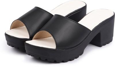 Sainex Women Black Heels