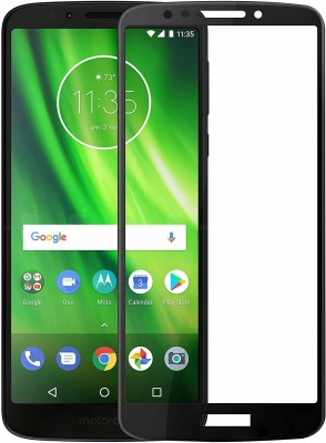 Icod9 Edge To Edge Tempered Glass for Motorola Moto G6 Play(Pack of 1)