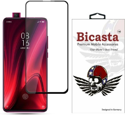 Bicasta Edge To Edge Tempered Glass for Mi K20, Mi K20 Pro(Pack of 1)
