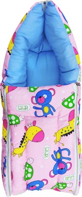 MOM & SON Baby Bed Cum and Sleeping Bag (0 to 7 Months) Sleeping Bag(Multicolor)