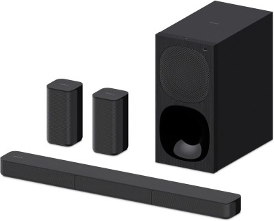 SONY HT-S20R Dolby Digital 400 W Bluetooth Soundbar(Black, 5.1 Channel)