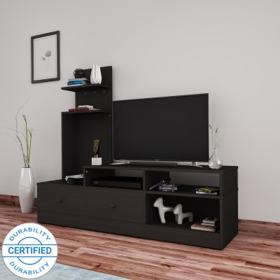 Flipkart Perfect Homes Sirena Engineered Wood TV Entertainment Unit(Finish Color - Melamine Wenge)