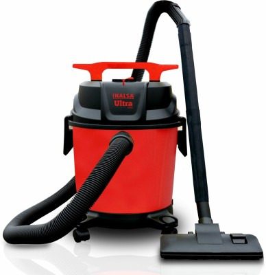 Inalsa Ultra WD10 Wet & Dry Vacuum Cleaner(Black, Orange)