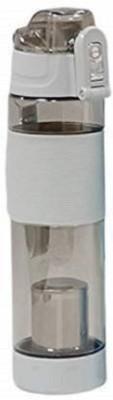 Jackshow 600 ml Water Purifier Bottle(Beige, Clear)