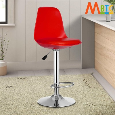 MBTC Rapid Red Natural Fiber Bar Chair(Finish Color - Red)