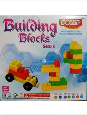 medhansh DOLLY BUILDING BLOCKS SET 1 Multicolor medhansh Blocks   Building Sets